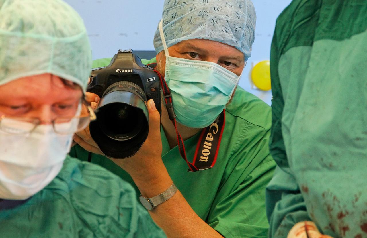 Rainer Weisflog  In der Interdisziplinaeren Notaufnahme (INA) der Klinik fuer Unfallchirurgie am Klinikum in Goerlitz
