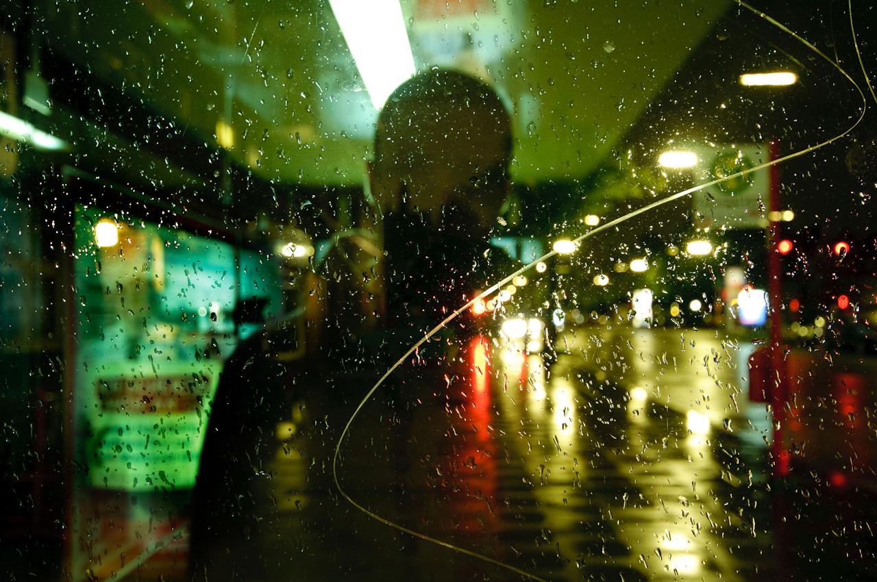 Leben im urbanen Raum, Selbstporträts von Tim Gerdts, Aufnahmen aus Hamburg