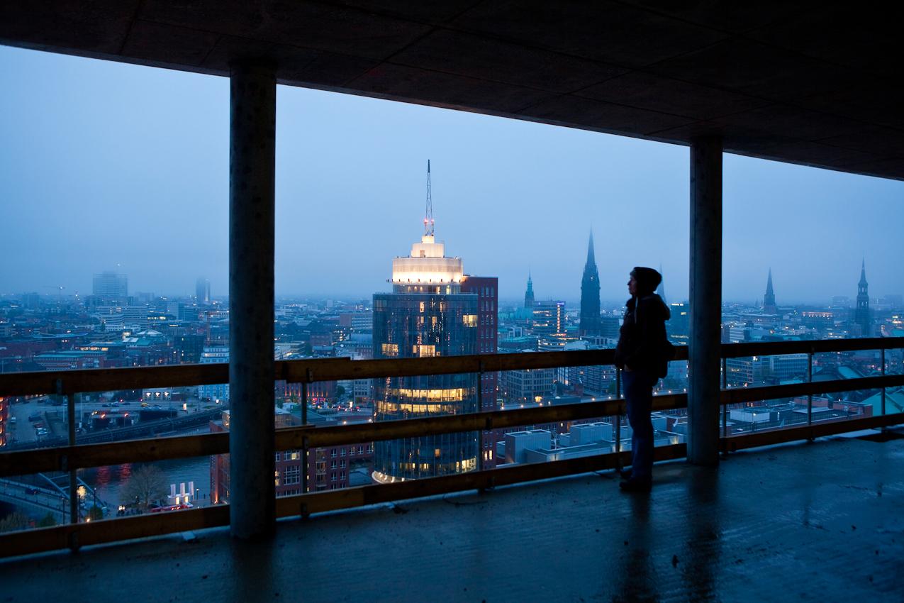 Germany, Deutschland, Hamburg, Hamburger Hafen, Sankt Pauli, Hafengeburtstag 2010, Sandtorkai, Baustelle, Hochtief construction, Elb Philharmonie, Kehrwiederspitze,